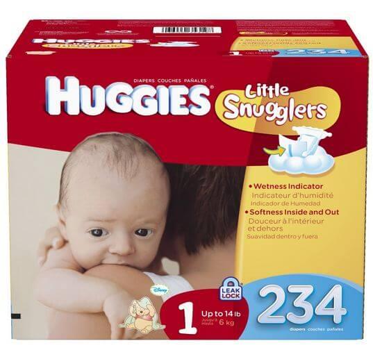 huggies little snuggler