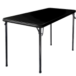 folding table black